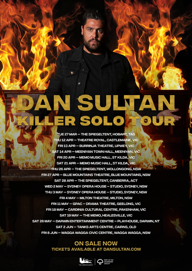 Dan Sultan Killer solo tour